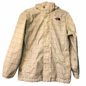 The North Face Checkered Hyvent Shell Jacket